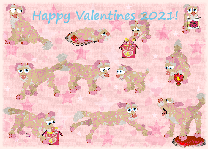 Laura's Valentine Mutts 2021